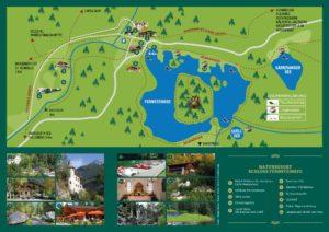 Plan Ferienpark Fernsteinsee